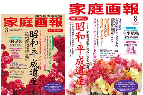 【雑誌】家庭画報 2020.8月号『TELLUSGIZER広告ページ』